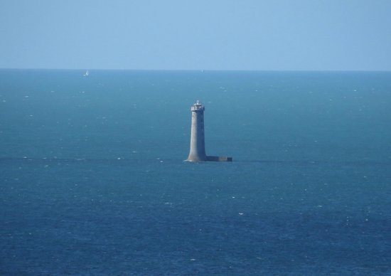 Phare des Baleines : View from atop the Phare de la baleine 1
