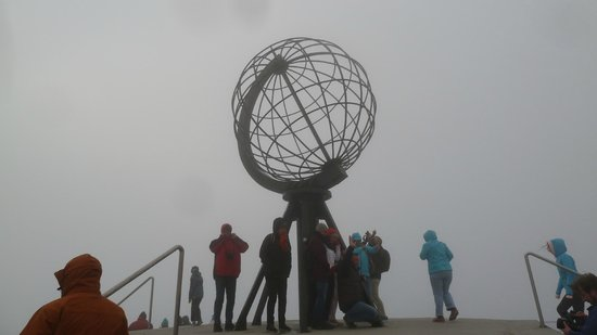 Nordkappmuseet: Endlich am Nordkap