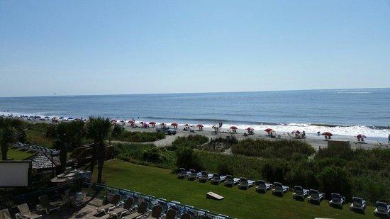 Sandcastle South Beach Resort: Third floor view