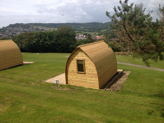 Newlands Holiday Park: Glamping pods at Newlands