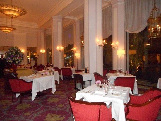 Hotel Cipriani Restaurant: la salle de restaurant avant ouverture