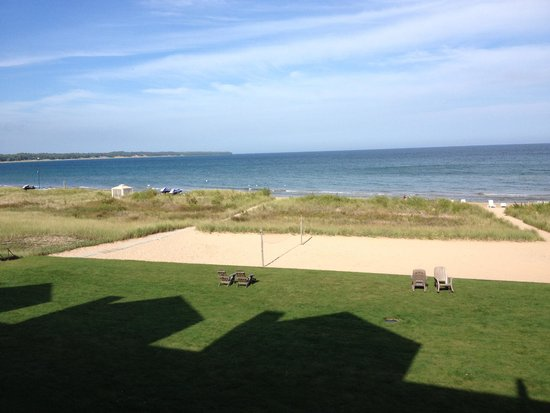 Glidden Lodge Beach Resort: View from our condo