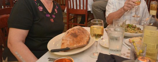 Tony & Nello's Southern Italian Cuisine & Grille : Colosseum-large calzones here.