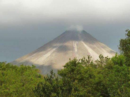 Casa Luna Hotel & Spa: le volcan vu de l'hotel le matin