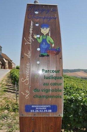 Mutigny, Frankrike: Sentier du Vigneron