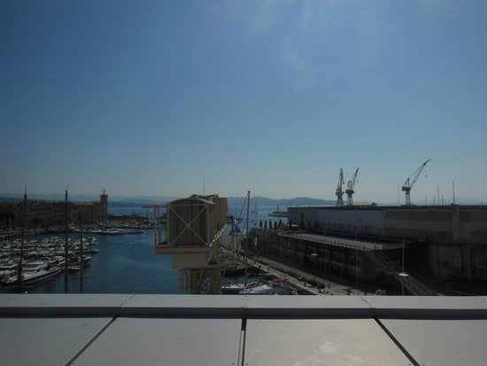 Best Western Premier Vieux Port : View from roof terrace