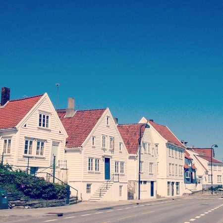 Old Stavanger - view from the seaside