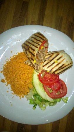 SARACINO'S: Mexican panini wrap