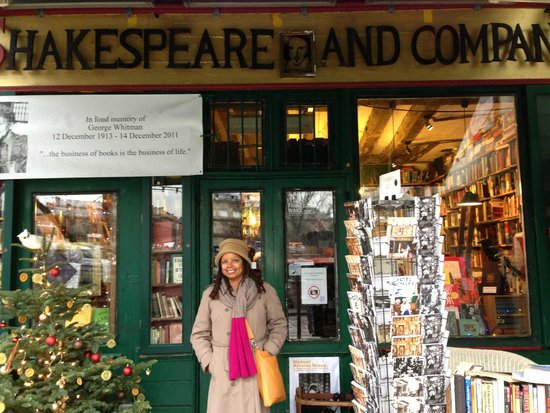 Librairie Shakespeare and Company : Didn't see the No Photo sign