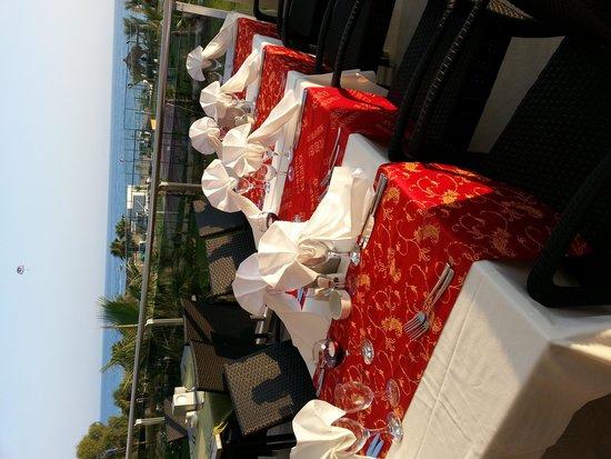 Sea Planet Resort & Spa: Birthday celebration arranged by the hotel