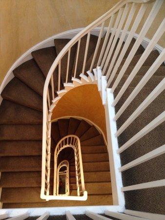 Staunton Hotel: La scalinata