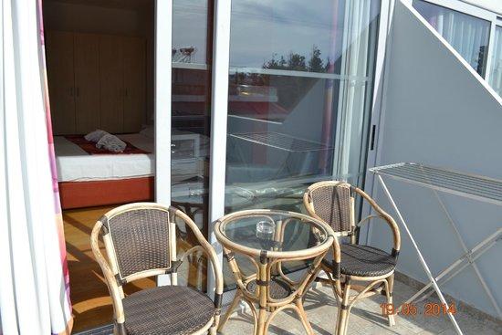 Kolymbia Bay Art Hotel: балкон