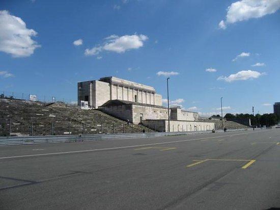 Reichsparteigelande (Nazi Party Rally Grounds): Zepplin Field main structure w/ podium