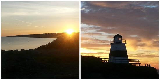 By the Dock of the Bay Cottages: Sunrise and Sunset