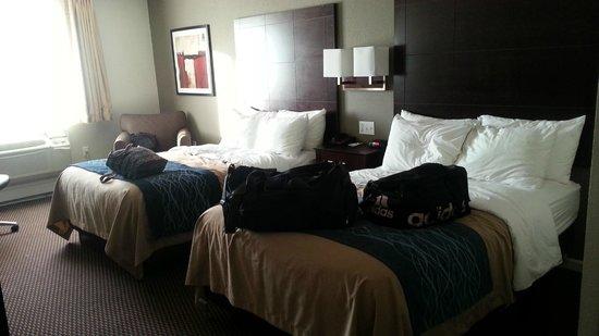 Comfort Inn Sandusky: Two double beds room