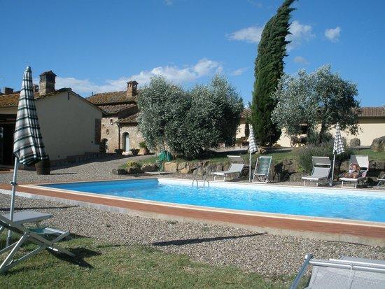 Agriturismo Montegonfoli: Pool area