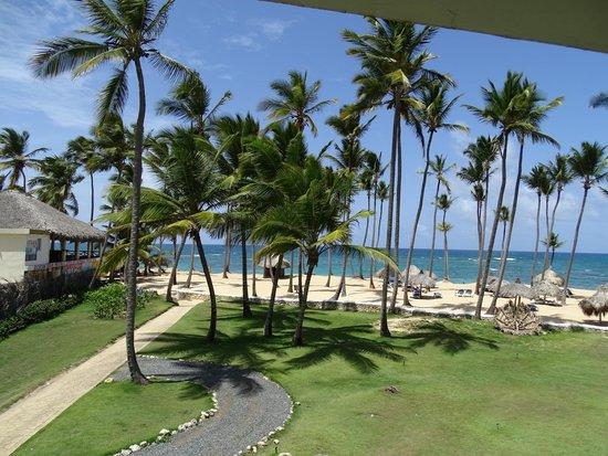 Sirenis Punta Cana Resort Casino & Aquagames : Vue magique depuis notre chambre