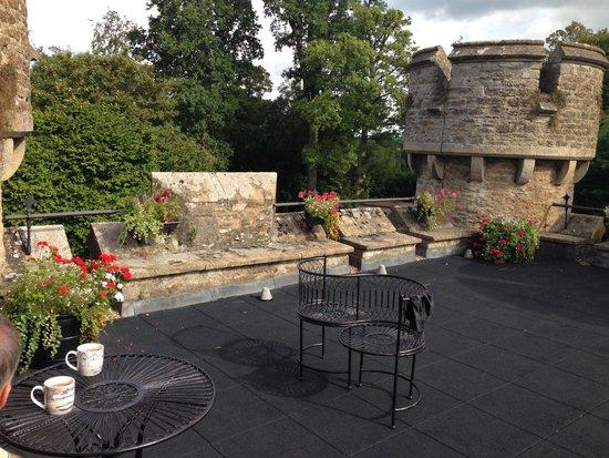 Bath Lodge Castle : Roof terrace