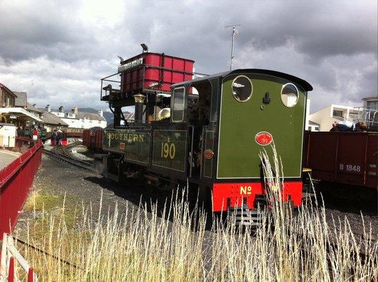 Ffestiniog & Welsh Highland Railways: One of many locomotives