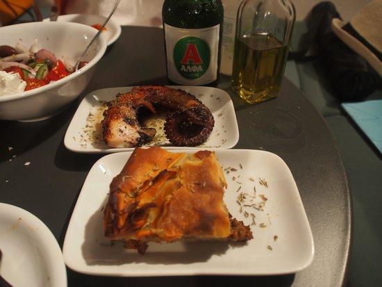 Melitini: Pie and octopus