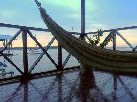 Bocas Inn: Room balcony with hammock