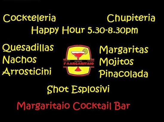 I'Margaritaio Cocktail Bar : Happy Hour