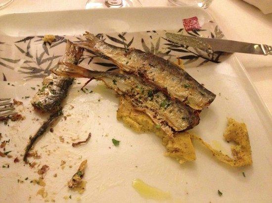Osteria della Buona Condotta : I mitici missoltini di lago