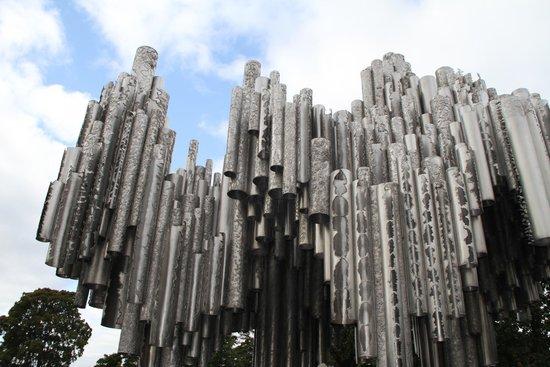The Sibelius Monument : Прекрасное место