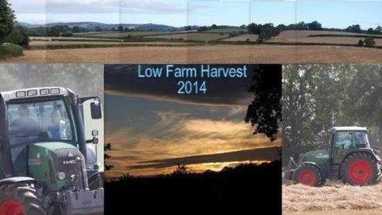 All systems go for the harvesting at Lowe Farm B&B.