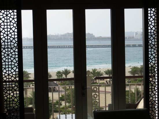 The Ritz-Carlton Dubai: The Palm from our window