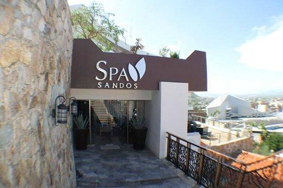 Sandos Finisterra Los Cabos: The spa....