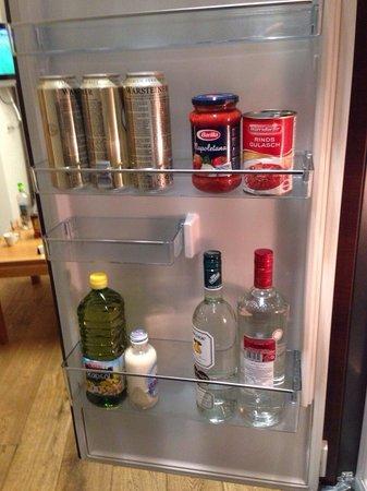 Sporthotel Silvretta: удобный и вместительный холодильник