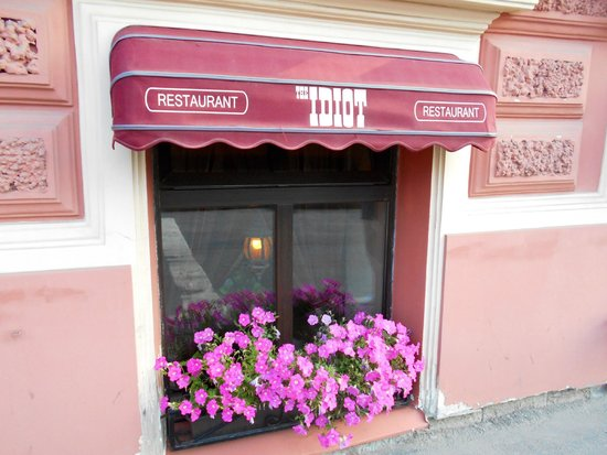 The Idiot Restaurant : Outside