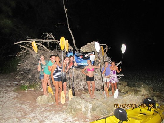 Cayman Kayaks: Getting ready to head out