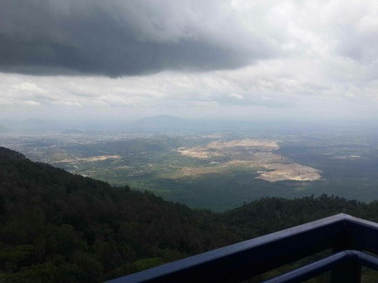Great Trails Yercaud by GRT Hotels: Salem City view from GRT Salem Trials Hotel