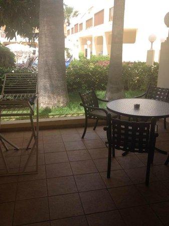 Royal Sunset Beach Club : terrace
