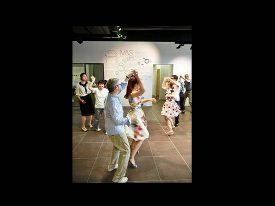 Marks & Spencer: Marks in Time: 50s Dance class at one of our fabulous Decades Days