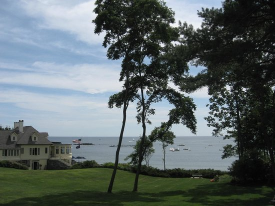 York Harbor Inn : View from the Park
