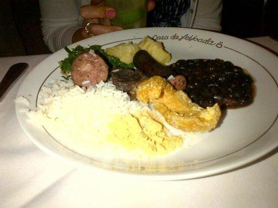 Casa da Feijoada: Our dinner