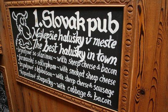Slovak Pub : Sign