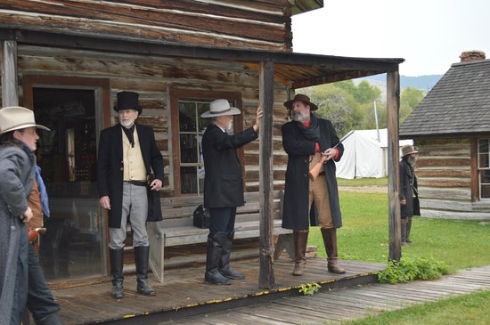High Tower Ranch Bed, Breakfast & Farm Stay: Nearby Nevada City Living History reenactment.