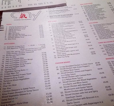 Chy Restaurant: Chy