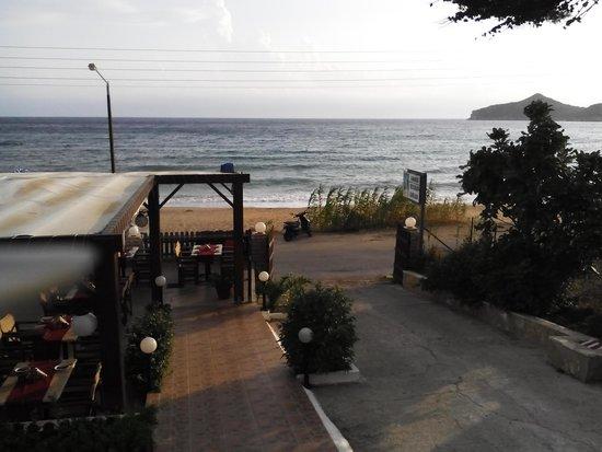 Ammos Seaside in Saint George: seaside in st george