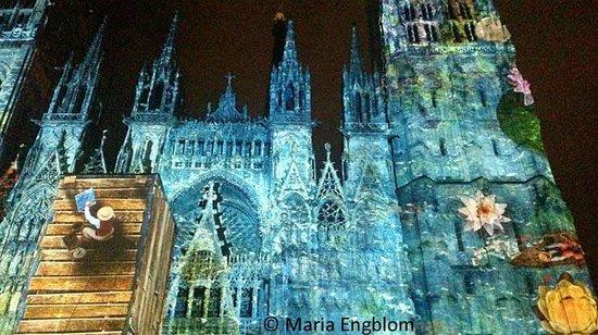 """Cathédrale Notre-Dame de Rouen : """"Première impression"""" (First impressions),"""