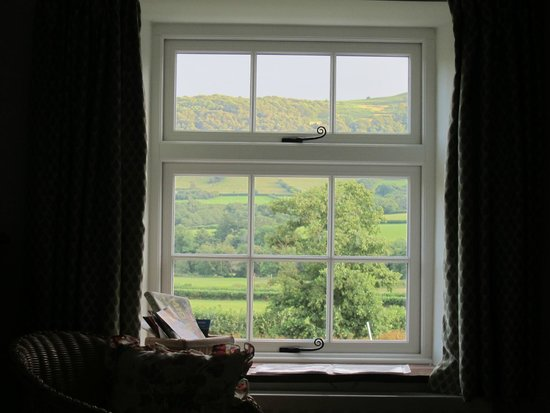 Ty Newydd B&B: Bedroom window 2