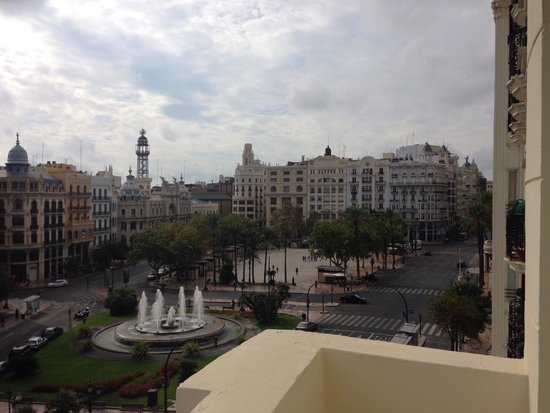Melia Plaza: Desde la habitacion