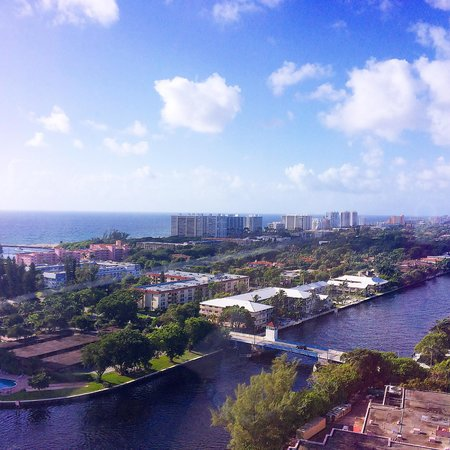 Boca Raton Resort, A Waldorf Astoria Resort: Our beautiful view from the tower at The Boca Raton Resort and Hotel
