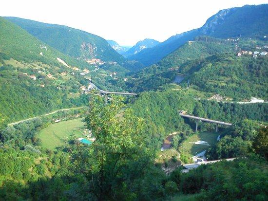 Bijela Tabija Restaurant : Panoramic view