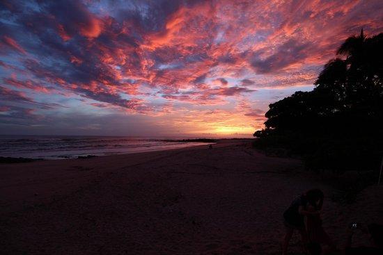 Playa Cielo: Sunset at Hotel