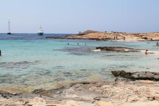 Plage de Ses Illetes : Playa Illetes